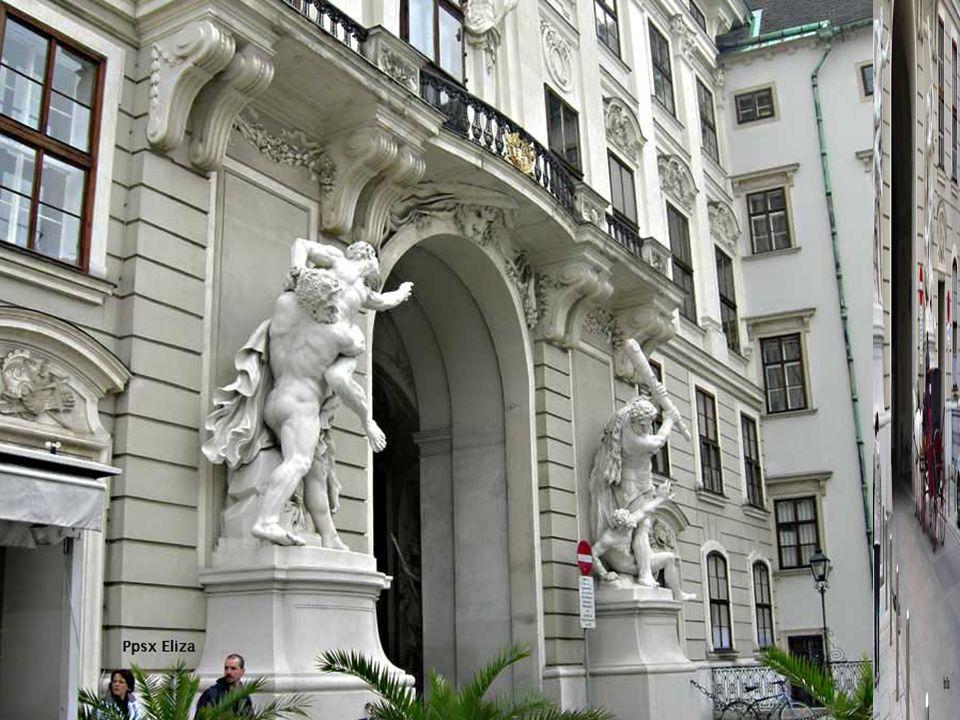 Die Hofburg war die offizielle Residenz der Habsburger.