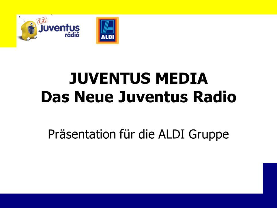 JUVENTUS MEDIA Das Neue Juventus Radio Präsentation für die ALDI Gruppe