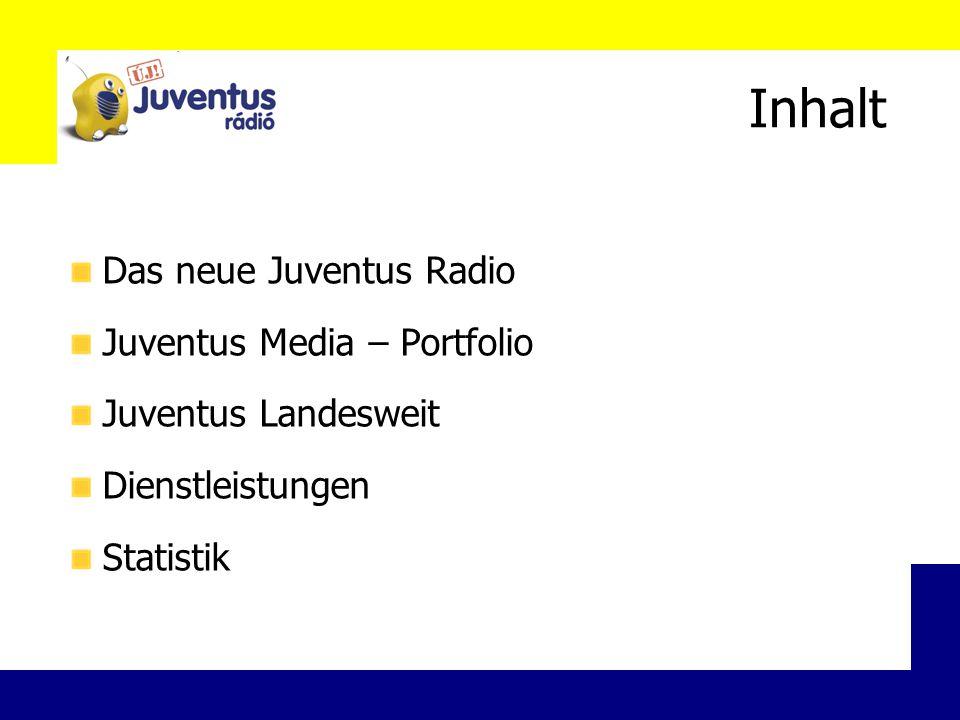 Newsletter Monatlich erscheinender Newsletter Bereits mehr als 1500 Empfänger Themen: Radio Juventus, Erfolge, Kunden B2B Kommunikation