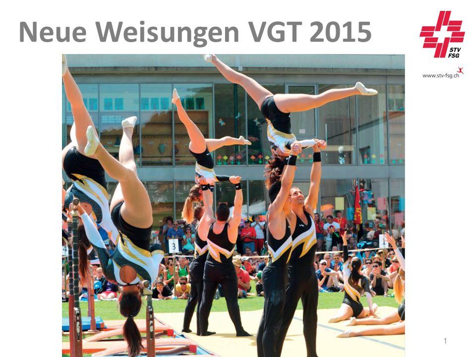 1 Neue Weisungen VGT 2015