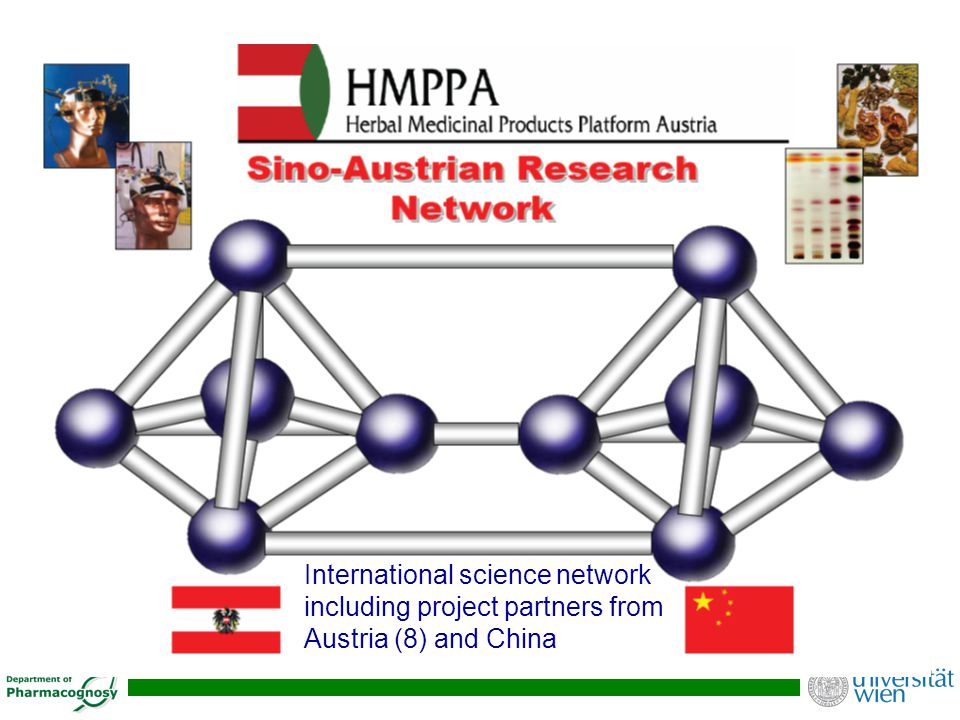 International science network including project partners from Austria (8) and China