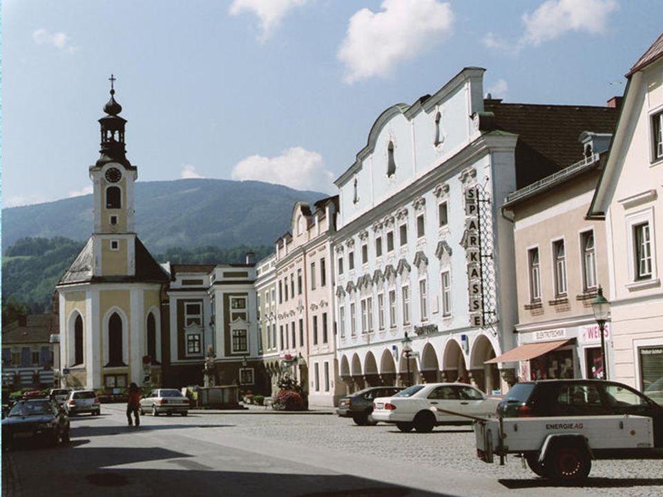 """Weyer das """"güldene Märktl"""", verdankt seinen frühen Reichtum der idealen Lage an den Handelswegen vom steirischen Erzberg ins niederösterreichische Wai"""