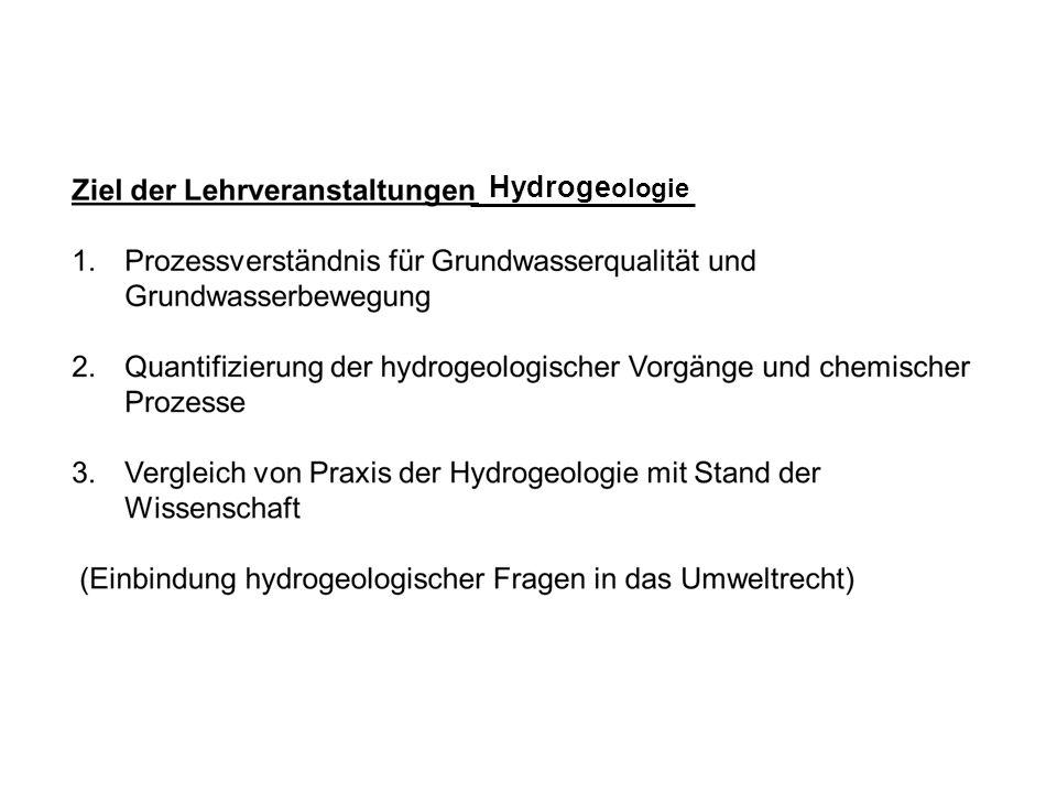 Hydroge ologie