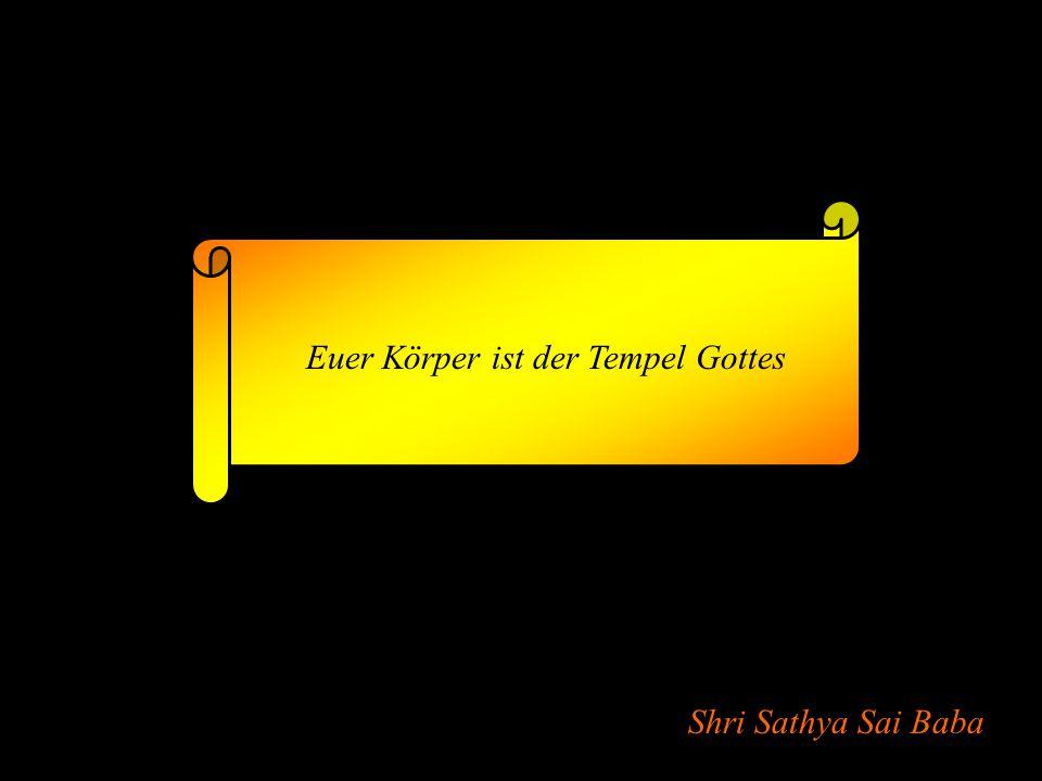 Shri Sathya Sai Baba Der Mensch kann nicht leben ohne Gott, der ihn erhält.