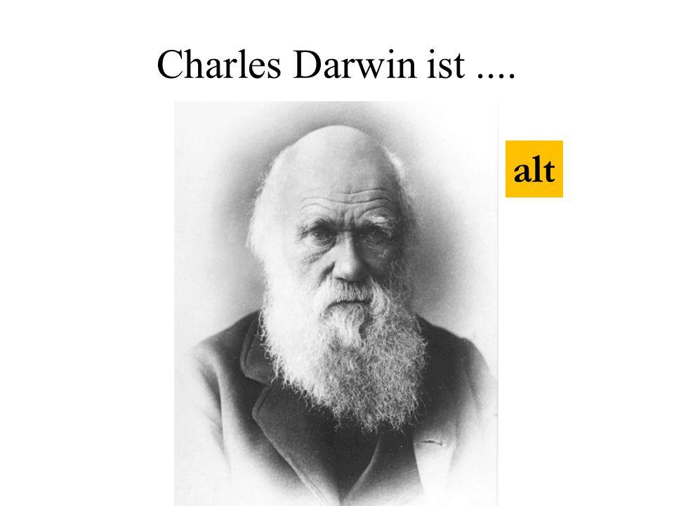 Charles Darwin ist.... alt