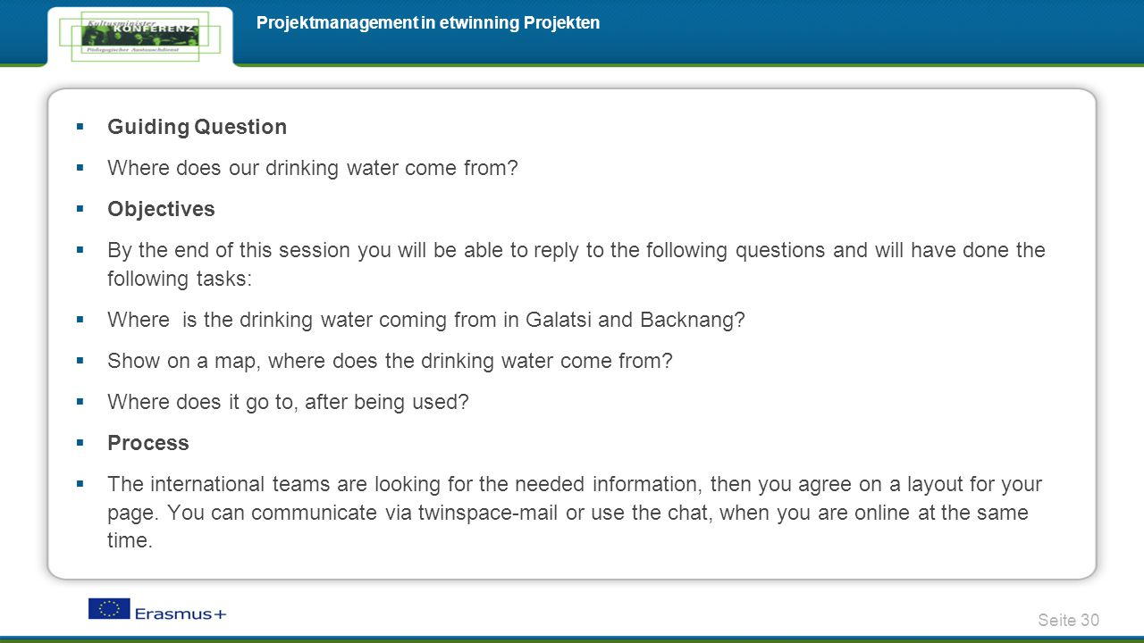 Guiding Question  Where does our drinking water come from.