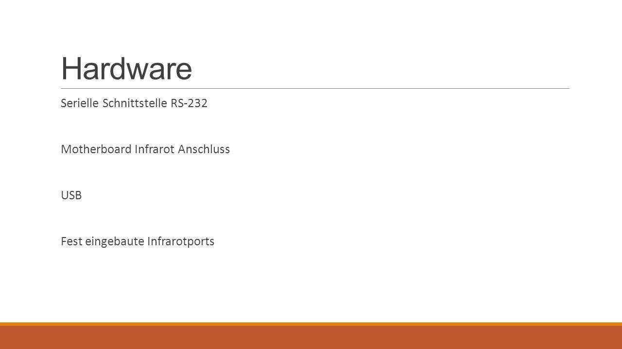 Hardware Serielle Schnittstelle RS-232 Motherboard Infrarot Anschluss USB Fest eingebaute Infrarotports