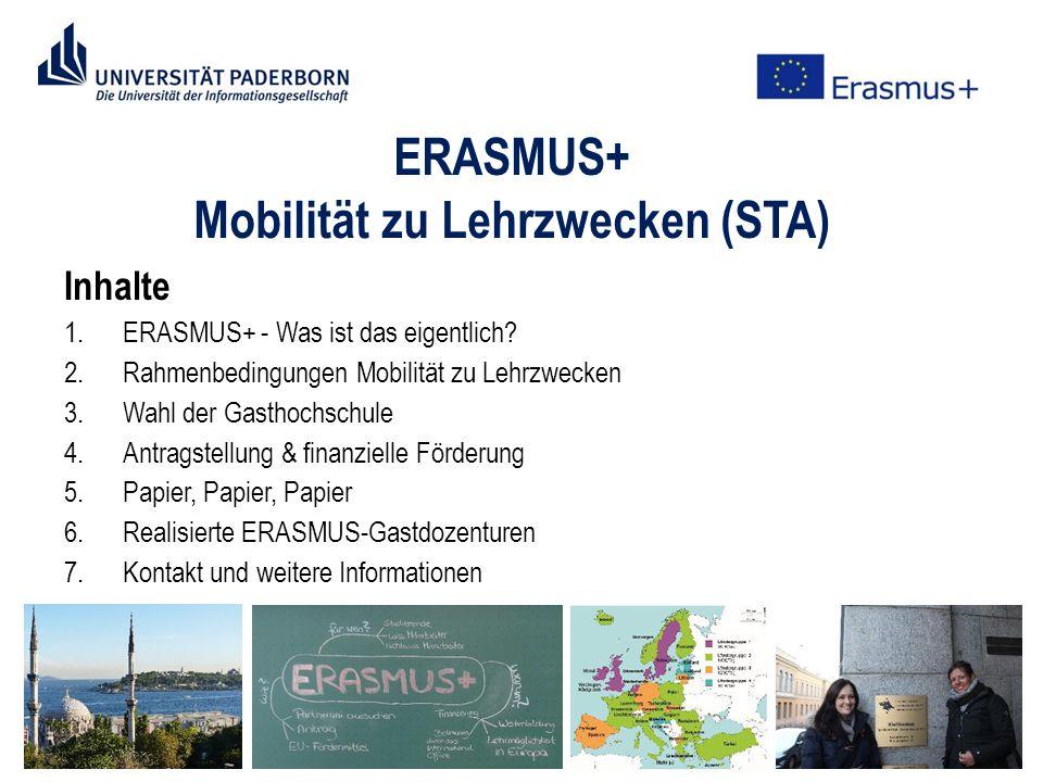 1.ERASMUS+ - Was ist das eigentlich.