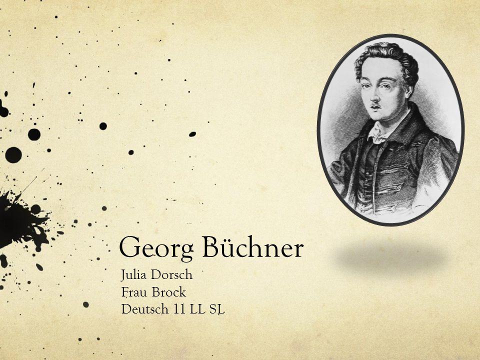 Georg Büchner Julia Dorsch Frau Brock Deutsch 11 LL SL