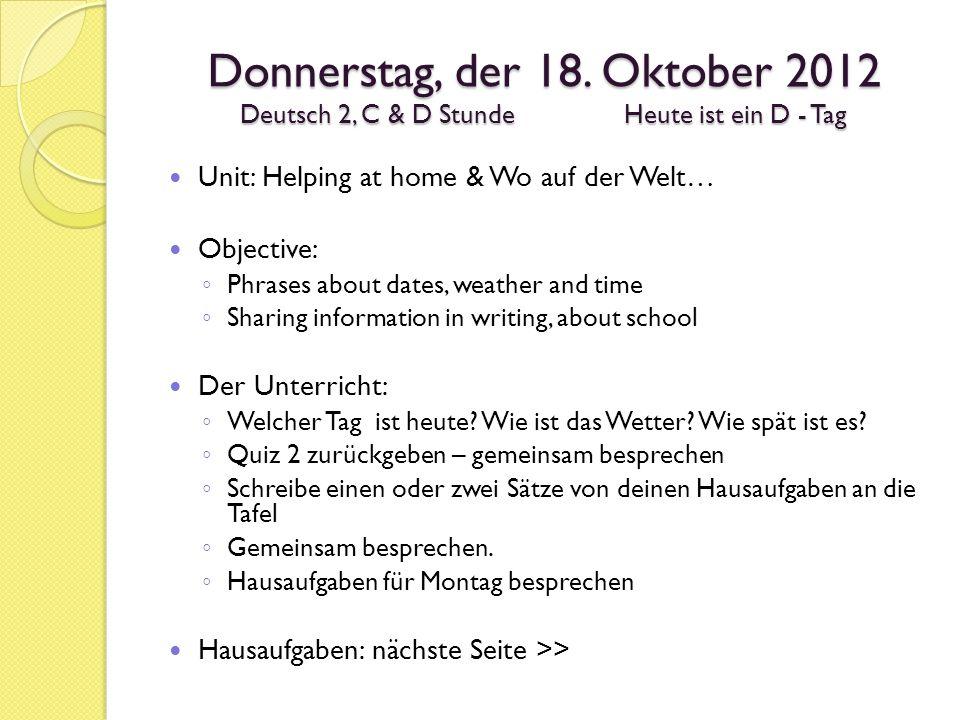 Wikipost: Schule Wie sieht ein typischer Schultag bei euch aus.