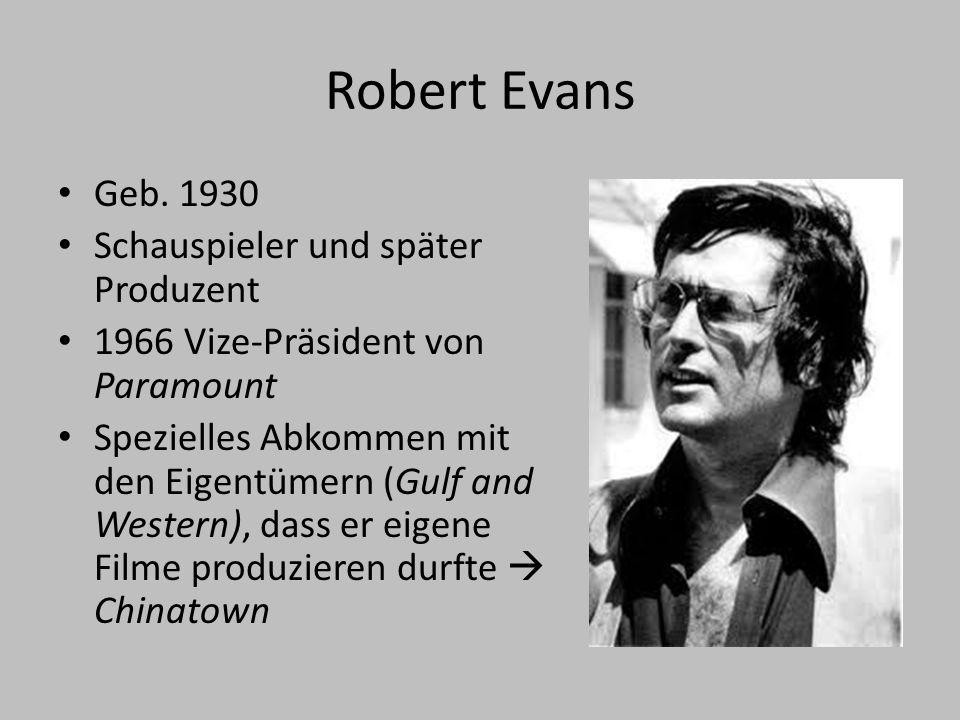 Robert Evans Geb.