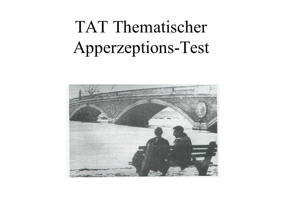 TAT Thematischer Apperzeptions-Test