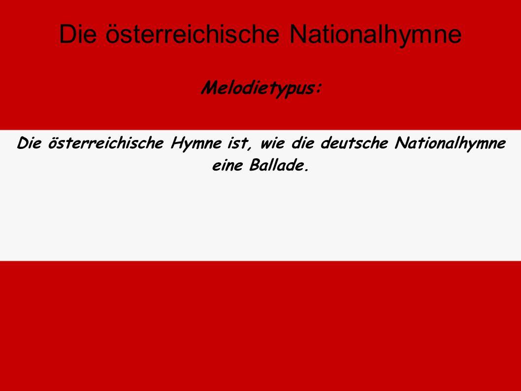 Der Text spielt auf die Schönheit, den Zusammenhalt der Bürger, die Natur, die Heimatliebe und die Zukunft Österreichs an. Die österreichische Nationa