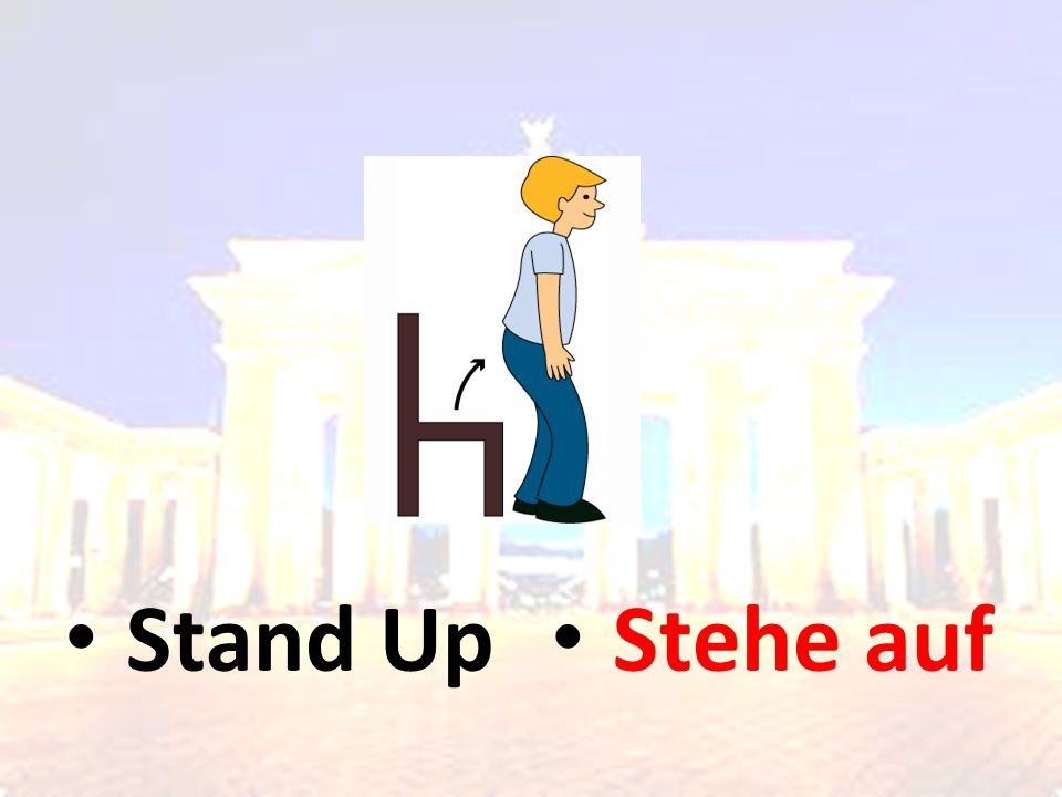 Stand Up Stehe auf
