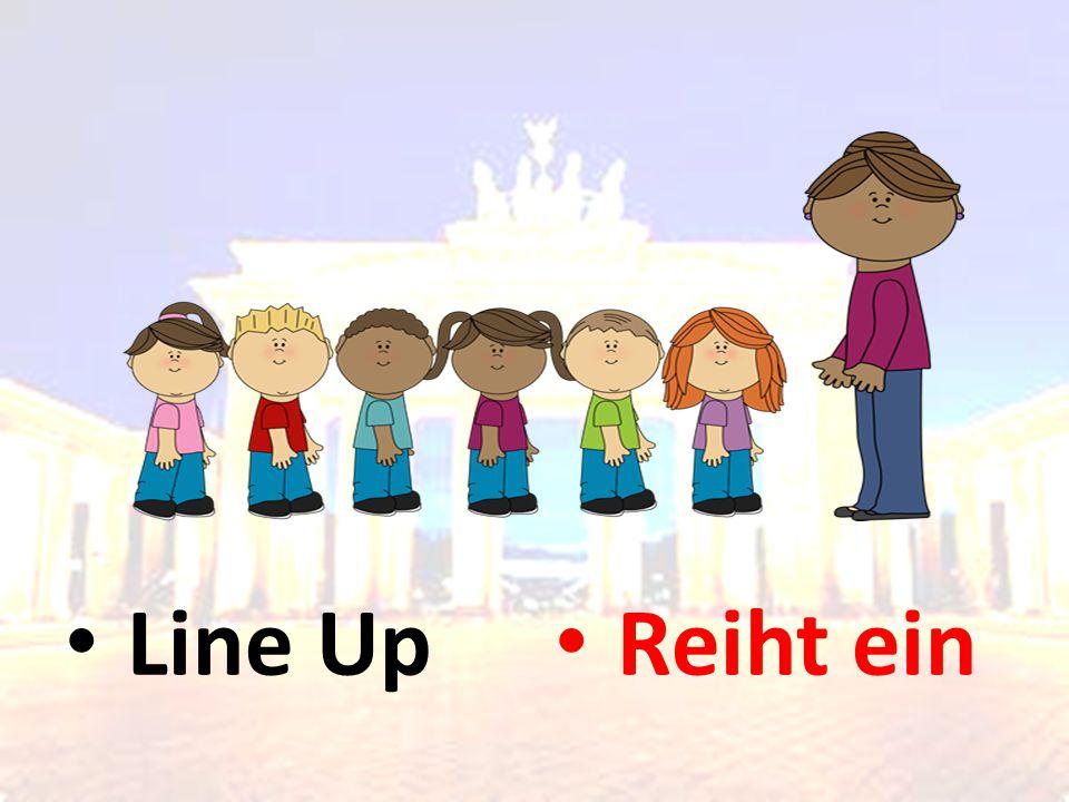 Line Up Reiht ein
