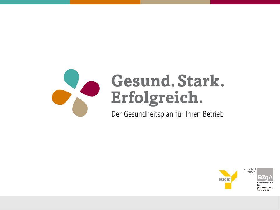 Gesunde Mitarbeiter – starkes Unternehmen 2 Die BKK VerbundPlus und die IHK Ulm laden ein: 1.