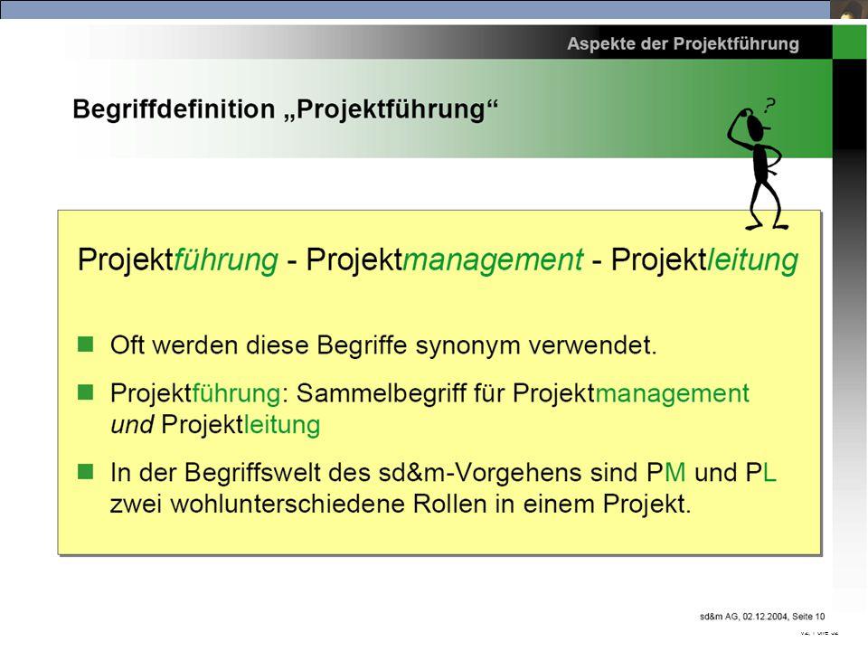 IT-Projektmanagement, Vorlesung Sommersemester 2015 Prof. Dr. Herrad Schmidt SS 15 V2, Folie 32
