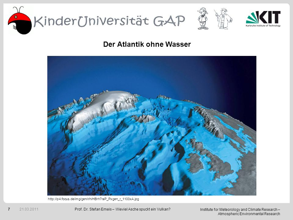 Institute for Meteorology and Climate Research – Atmospheric Environmental Research 7Prof.