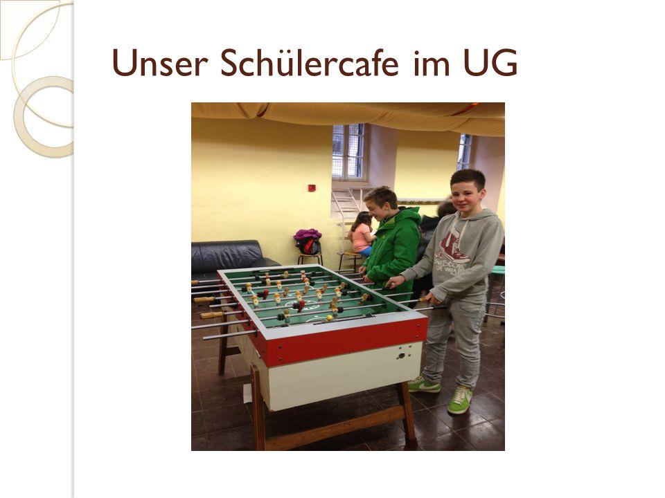 Unser Schülercafe im UG