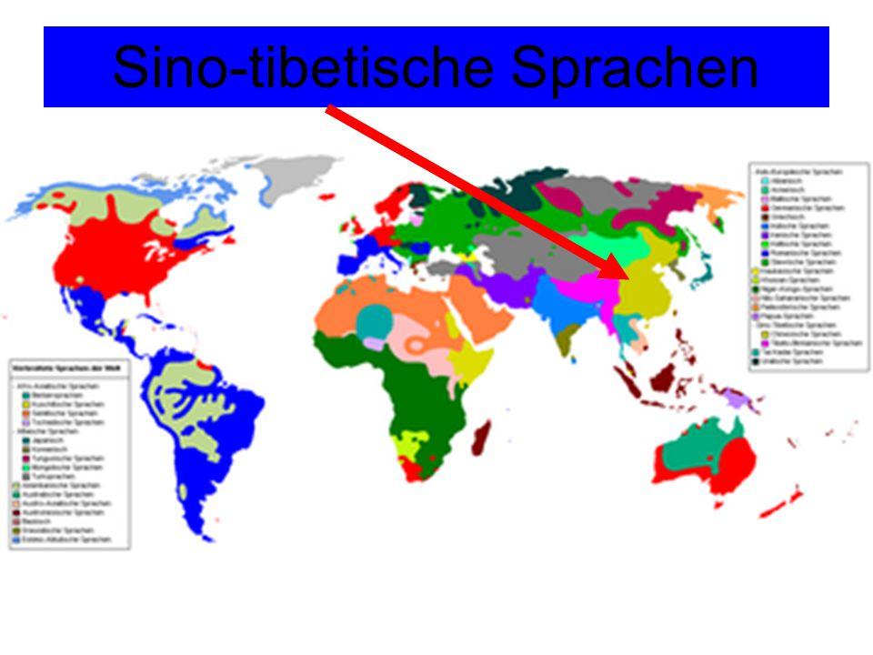 Chinesisch i.w.S.Sammelbegriff mit vielen Dialekten i.e.S.