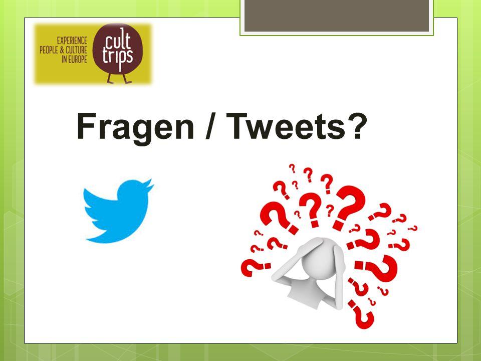 Fragen / Tweets?