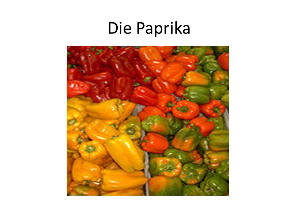 Die Paprika