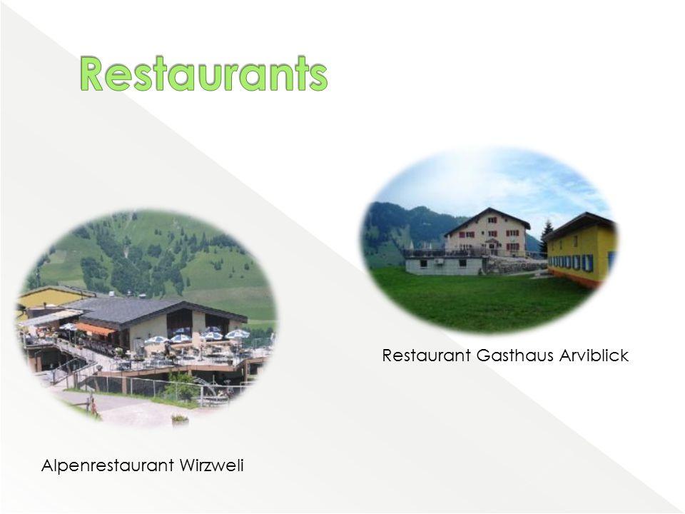 Alpenrestaurant Wirzweli Restaurant Gasthaus Arviblick
