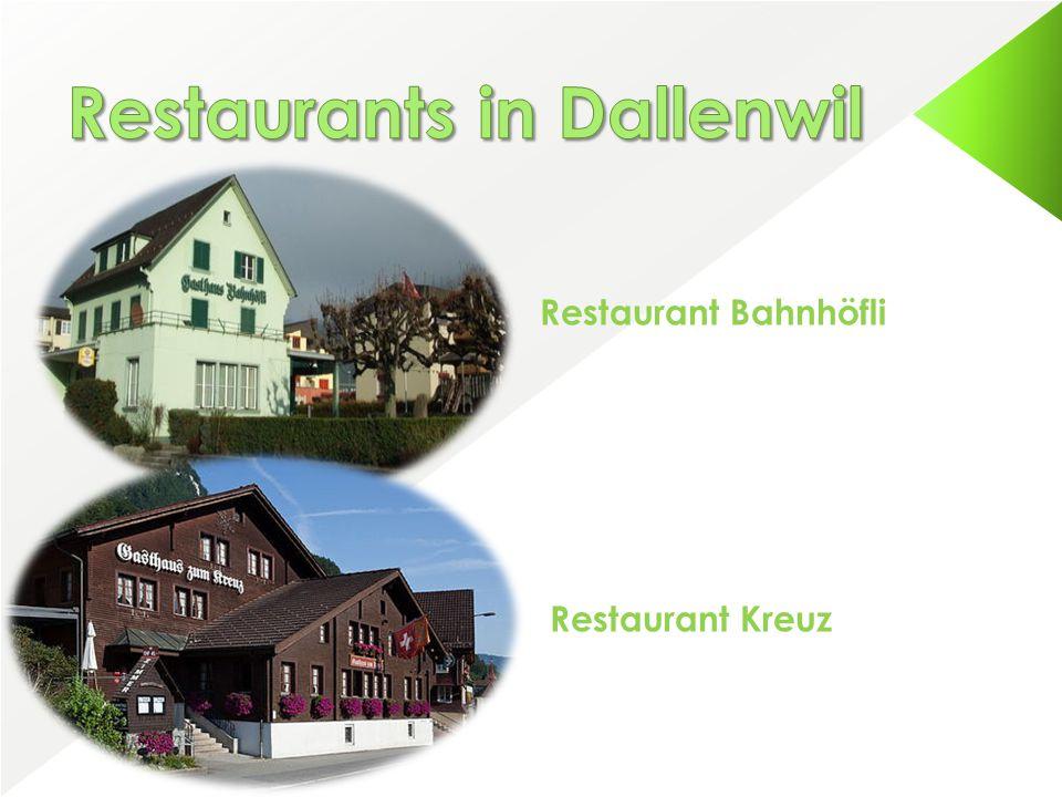Restaurant Bahnhöfli Restaurant Kreuz