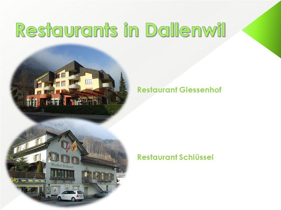 Restaurant Giessenhof Restaurant Schlüssel