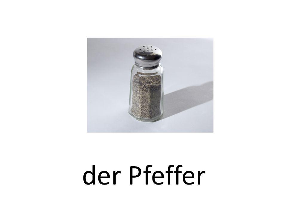 der Pfeffer