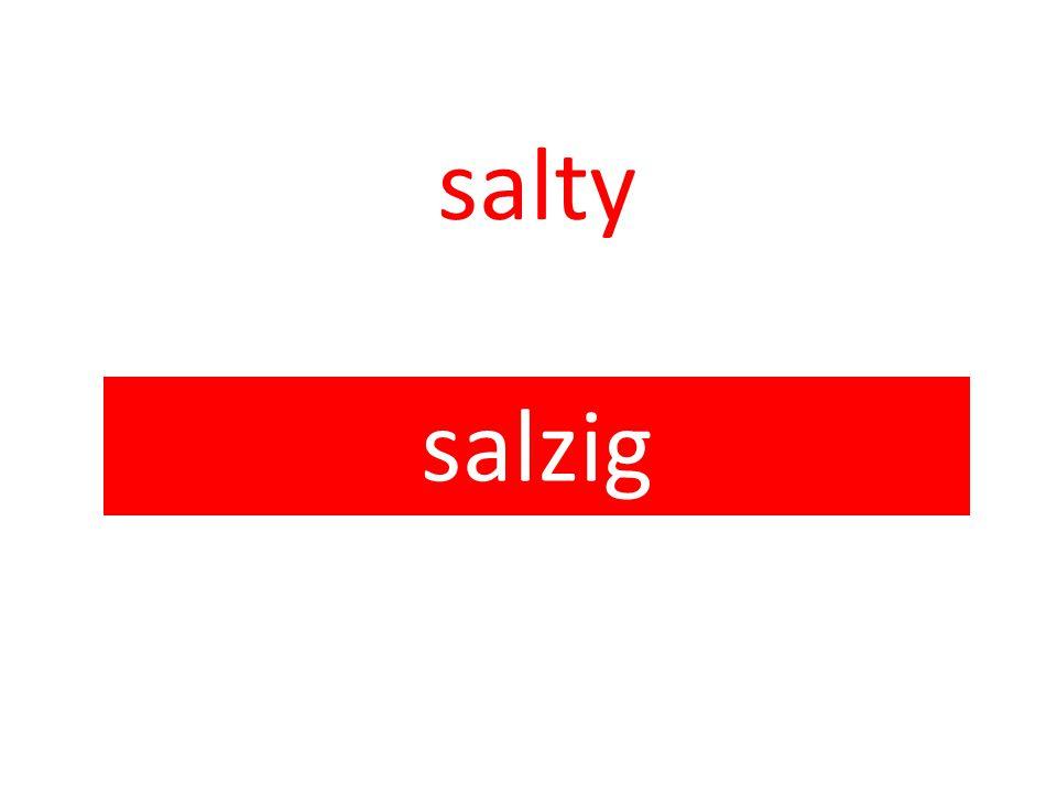 salty salzig