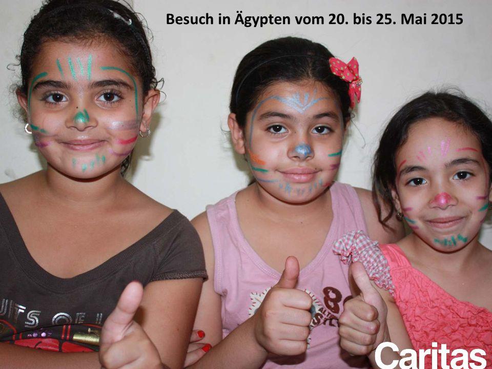 Besuch in Ägypten vom 20. bis 25. Mai 2015