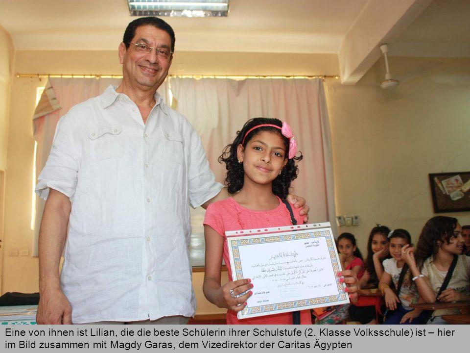 Eine von ihnen ist Lilian, die die beste Schülerin ihrer Schulstufe (2.
