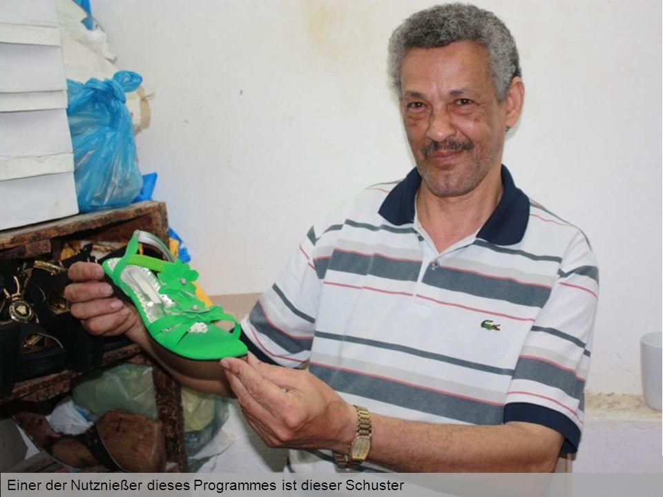 Im Beth Aleph-Vorschulprojekt der Caritas in der libanesischen Hauptstadt Beirut werden derzeit 72 Flüchtlings- und Migrantenkinder aus 12 verschiedenen Nationen betreut Einer der Nutznießer dieses Programmes ist dieser Schuster