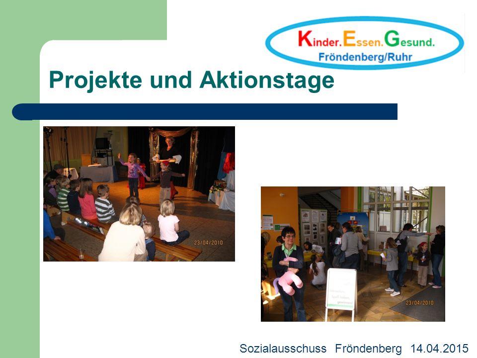 Projekte und Aktionstage Kreisjugendhilfeausschuss 18.03.2013 Deutscher Bürgerpreis 2013 WDR - Preis für die Rechte des Kindes 2014 Sozialausschuss Fr