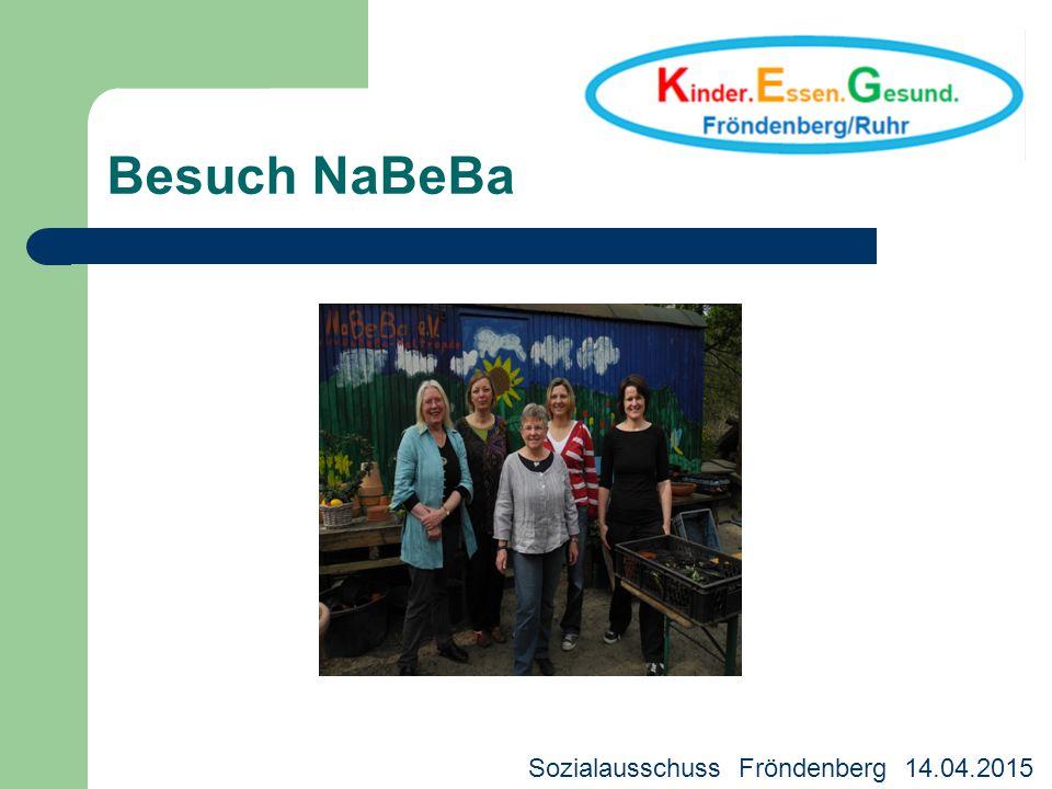 Besuch NaBeBa Sozialausschuss Fröndenberg 14.04.2015