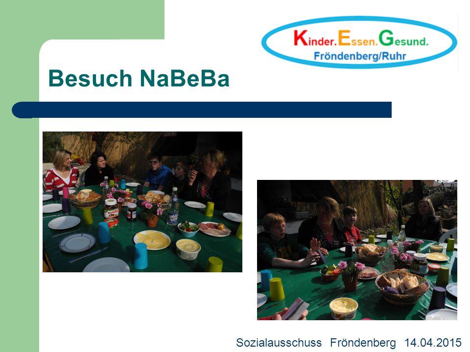 Besuch NaBeBa WDR - Preis für die Rechte des Kindes 2014 Sozialausschuss Fröndenberg 14.04.2015