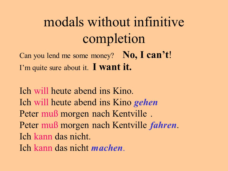 other infinitive completions They try to come to the party.