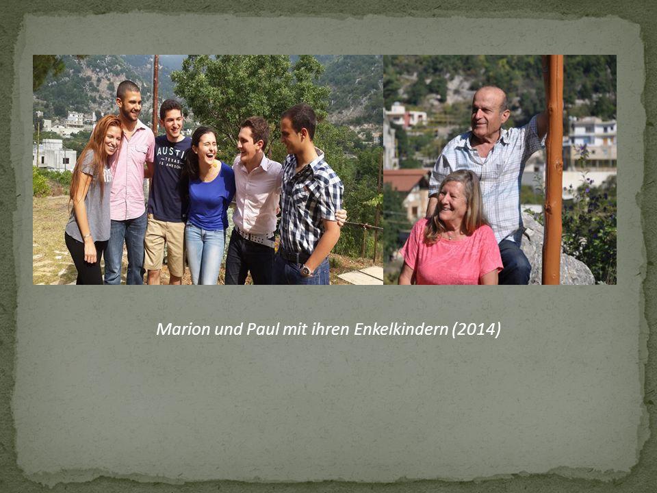 Marion und Paul mit ihren Enkelkindern (2014)
