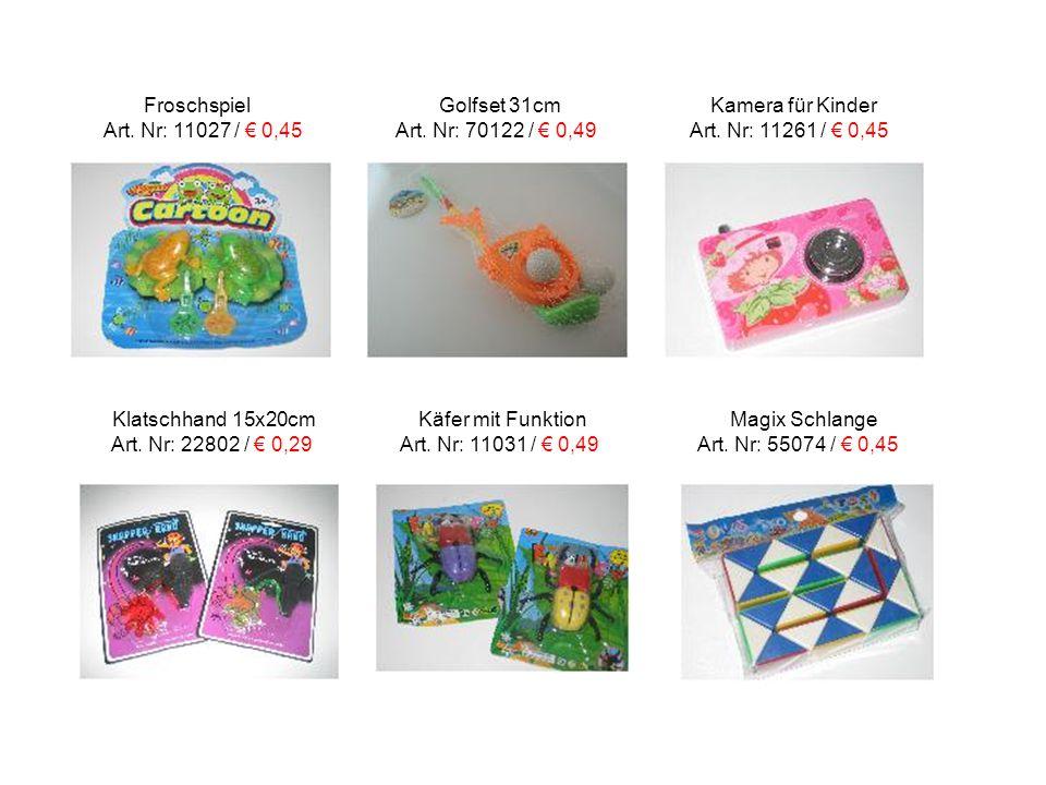 Kinderknete Bastelperlen Gummitiere Art.Nr: 2000457 / € 0,45 Art.