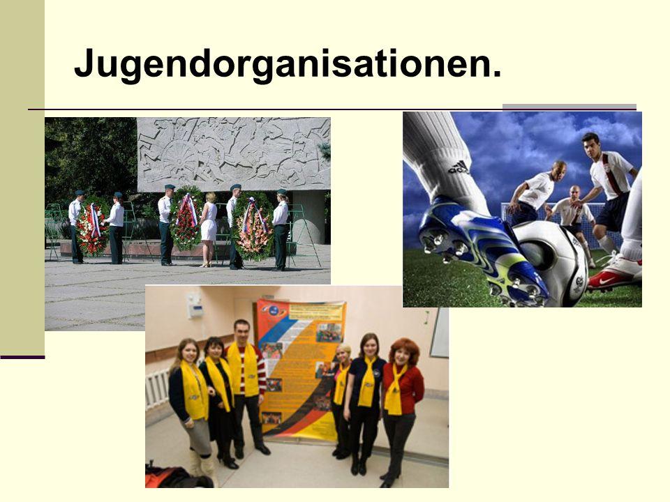 Jugendorganisationen.