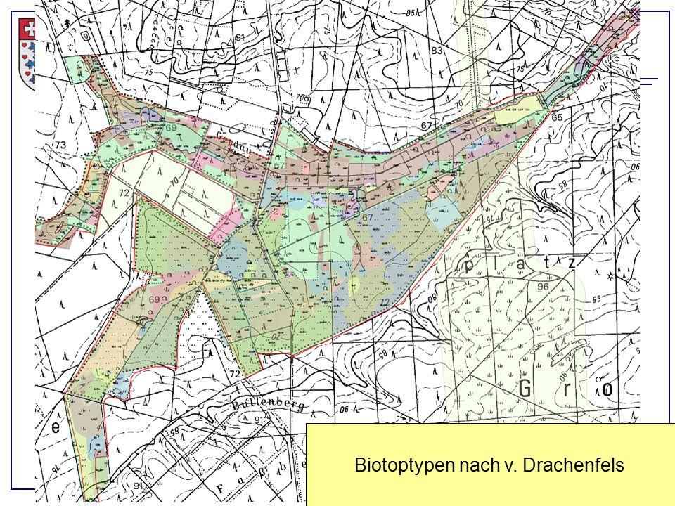 Landkreis Uelzen, Eimke, 21.04.2015 Biotoptypen nach v. Drachenfels