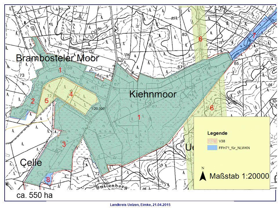 Landkreis Uelzen, Eimke, 21.04.2015 ca. 550 ha
