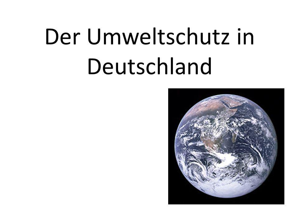 Umweltschütz ist wichtige Problem für den ganzen Welt
