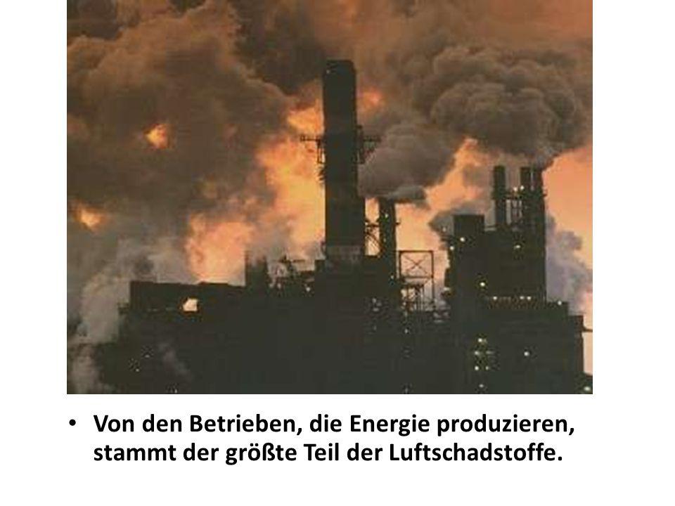 Verbinden Sie Satzteile 1.Die erfolgreiche Umweltpolitik braucht… 2.