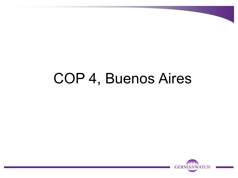 COP 4, Buenos Aires