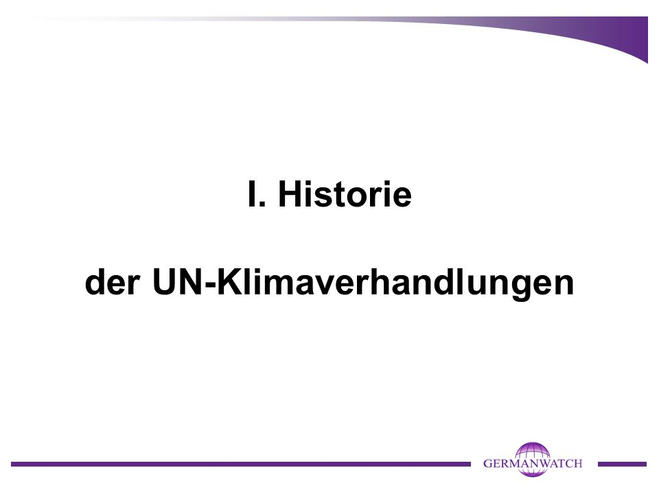 COP 18, Doha (November und Dezember 2012) Ergebnisse: - zweite Verpflichtungsperiode unter dem Kyoto-Protokoll - ein Beschluss zur Fortführung des Arbeitsprogramms und zur Ein- richtung einer Institution zum Umgang mit den Klimaschäden (L&D).
