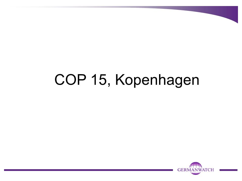COP 15, Kopenhagen
