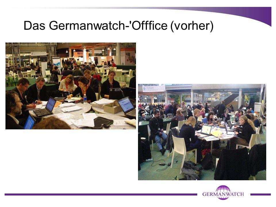 Das Germanwatch-'Offfice (vorher)