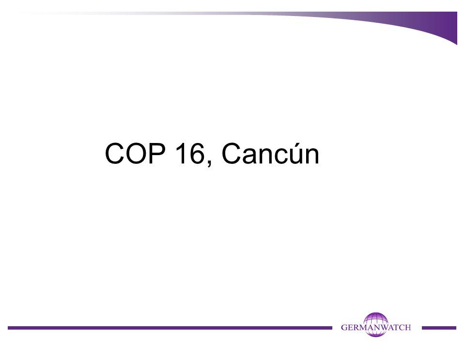 COP 16, Cancún